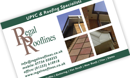 egal Rooflines Business Cards